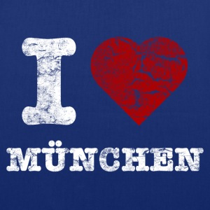 i_love_muenchen_vintage_hell Sacs - Tote Bag