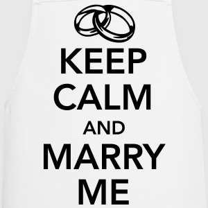 Keep calm and marry me Förkläden - Förkläde