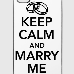 Keep calm and marry me Annet - iPhone 4/4s hard case