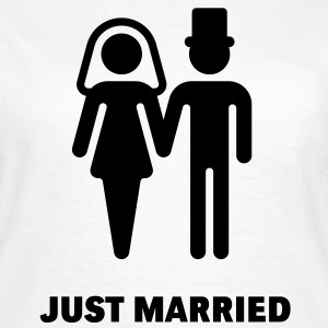 Just Married, Frauen-T-Shirt - Frauen T-Shirt