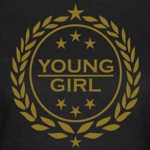 Young Girl Star Stars Lorbeerkranz laurel wreat1c T-Shirts - Women's T-Shirt