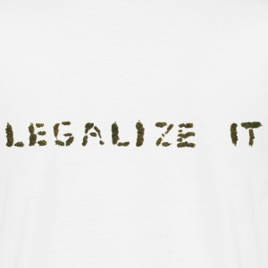 Legalize it T - Männer T-Shirt