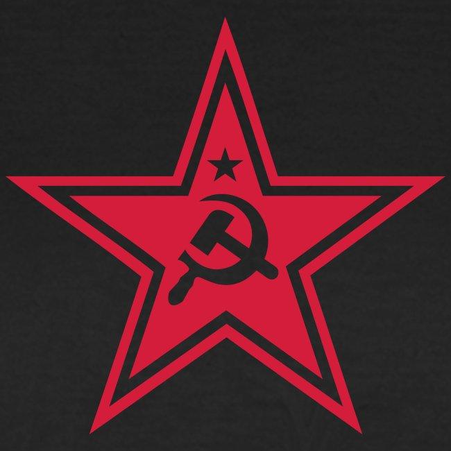 Communist Star Women's Tee Shirt