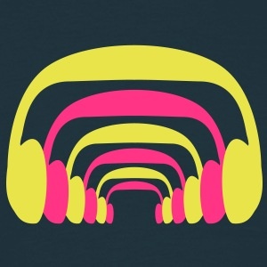 headphone_design T-shirts - Herre-T-shirt