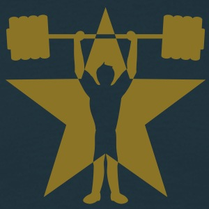 weightlifting_star Camisetas - Camiseta hombre