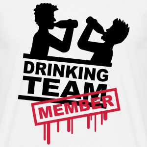 drinking_team_member T-shirts - Mannen T-shirt