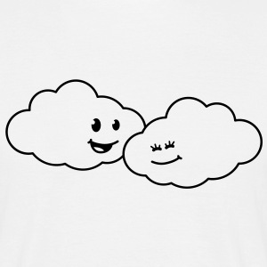 love_clouds T-shirts - Mannen T-shirt