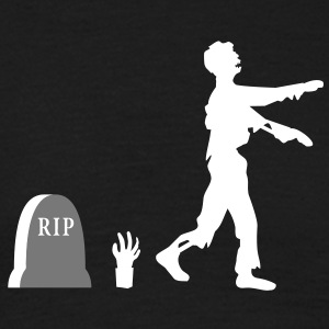 zombie_evolution T-shirts - Mannen T-shirt