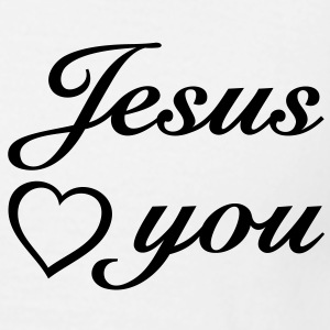Jesus loves you. I love Jesus T-Shirts - Men's T-Shirt