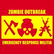 Design ~ Zombie Militia T-Shirt
