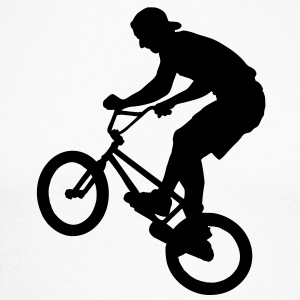 Cool BMX Rider  Tee shirts manches longues - T-shirt baseball manches longues Homme