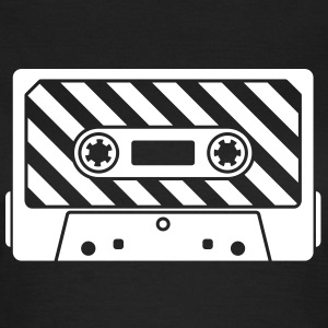 Audio Tape - Music Cassette Camisetas - Camiseta mujer