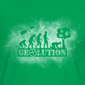 Geolution-light-grunge T-Shirts - Männer Kontrast-T-Shirt