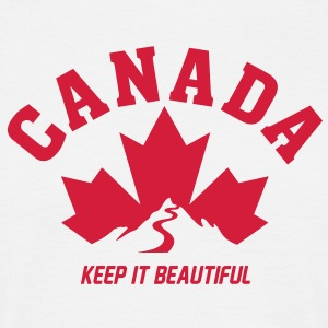 CANADA KEEP IT BEAUTIFUL T-Shirts - Männer T-Shirt