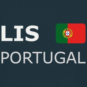Classic T-Shirt LIS PORTUGAL white-lettered - T-skjorte for menn