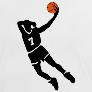 Basketball slam dunk T-Shirts - Frauen Kontrast-T-Shirt