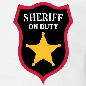 Sheriff on Duty - COP Star T-Shirts - Men's T-Shirt