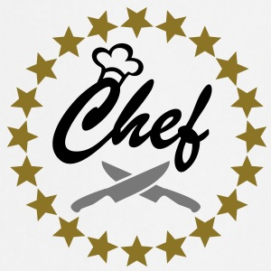 Chef with Chef´s hat and kitchen knifes  Aprons - Cooking Apron