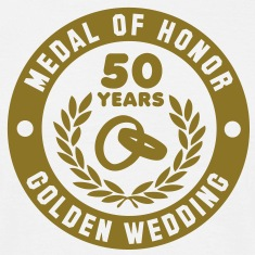 MEDAL OF HONOR 50th GOLDEN WEDDING T-Shirt