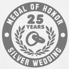 MEDAL OF HONOR 25th SILVER WEDDING T-Shirt