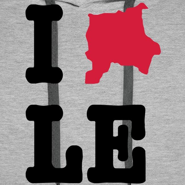 I Love Leipzig Hoodie