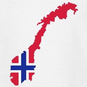Norwegen T-Shirts - Kinder T-Shirt