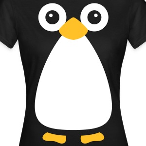 Cute Vector Penguin Women's Classic T-Shirt - Women's T-Shirt