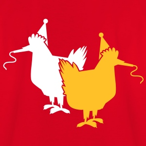 two party hens chooks chickens hen  with whistles Shirts - Kids' T-Shirt