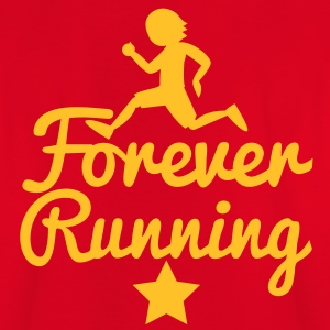 FOREVER RUNNING! awesome runners shirt Shirts - Kids' T-Shirt