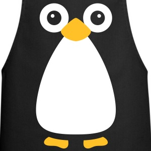 Cute Vector Penguin Cooking Apron - Cooking Apron