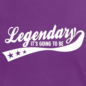 it's going to be legendary 1c retro T-skjorter - Kontrast-T-skjorte for kvinner