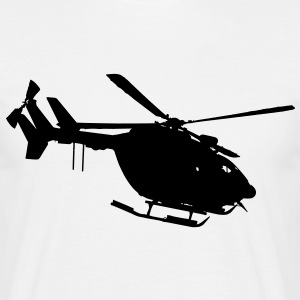 civil security helicopter ec 145 T-Shirts - Men's T-Shirt