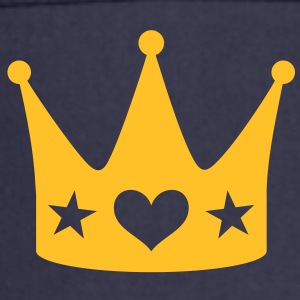 Crown with Heart and Stars Queen King coronet  Aprons - Cooking Apron