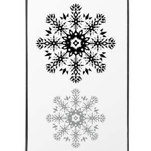 Schneeflocken-Ornament Sonstige - iPhone 4/4s Hard Case