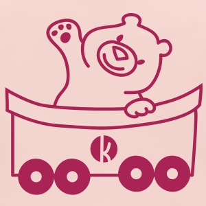 Bär in der Bahn - Bear on the carriage Accessories - Baby Organic Bib