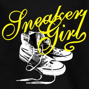 Sneaker Girl Shirts - Teenage T-shirt