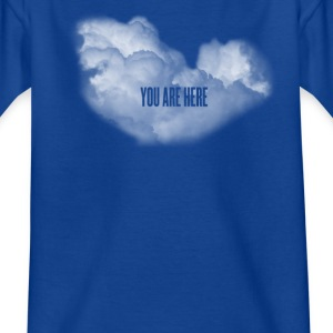 cloud you are here Shirts - Kids' T-Shirt