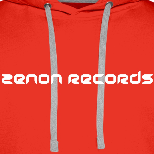 Mens Hoodie (white text front)
