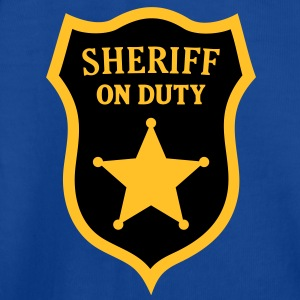 Sheriff on Duty. Shirts for kids - Kids' T-Shirt