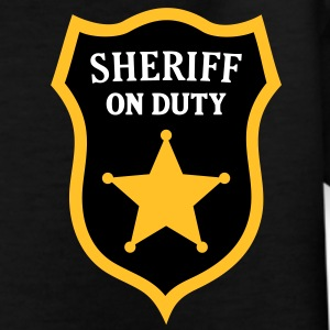 Sheriff on Duty, Police Officer T-Shirt Kids - Kids' T-Shirt