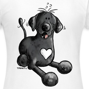 Labbi Love - Labrador Cartoon T-Shirt - Frauen T-Shirt