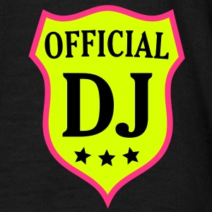 Enblem Officiell DJ-mixer skiva Jokey Club Dance T-shirts - T-shirt herr