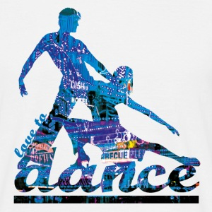 love to dance - T-shirt herr