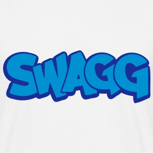 Swagg graff outlined T-Shirts - Men's T-Shirt