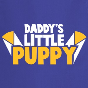 daddy's little puppy with cute ears  Aprons - Cooking Apron
