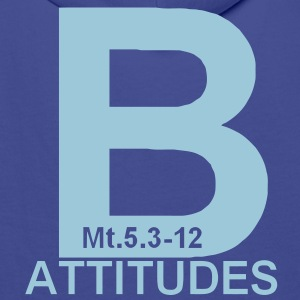 beatitudes Sweat-shirts - Sweat-shirt à capuche Premium pour hommes