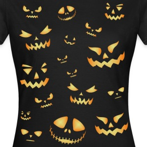 Halloween pumpkins - Women's T-Shirt