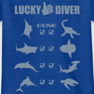 Lucky Diver Shirts - Teenage T-shirt