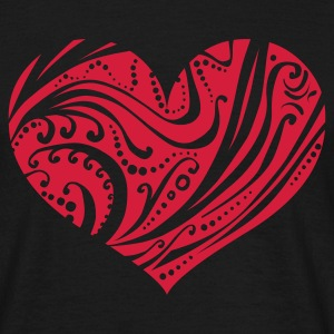 Ornamental Heart (v1, 1c, MPdk) - Herre-T-shirt