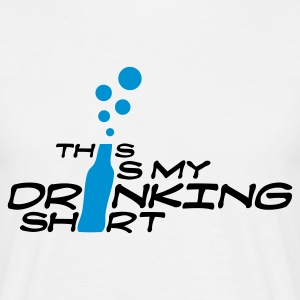 This Is My Drinking Shirt (v1, 2c, MPde) - Männer T-Shirt